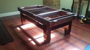 Correctly performing pool table installations, Marvin North Carolina